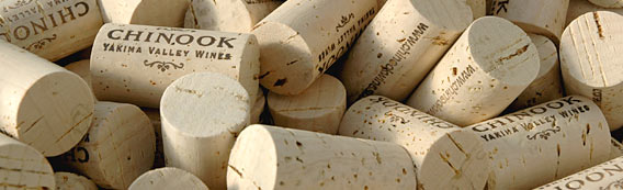 Chinook Wines corks