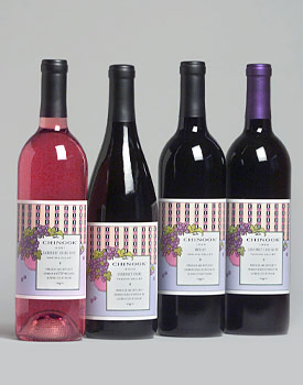 Chinook Rose & Red Wines